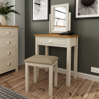 Boston Dressing Table, Stool & Mirror