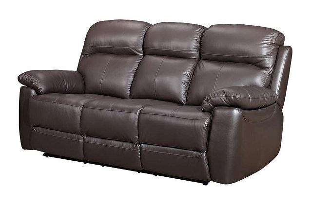 Aston Leather 3 Seater Sofa