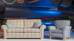 Monet 3 Seater Fabric Sofa & Accent Chair  | Gordon Busbridge Furniture & Beds Store | Hastings, Eastbourne, St Leonards on Sea, Bexhill & Seaford