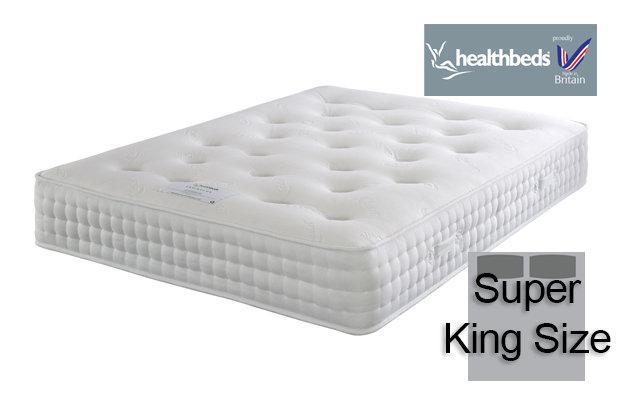 Healthbeds Enviro-Lux 1400 Super King Size Mattress