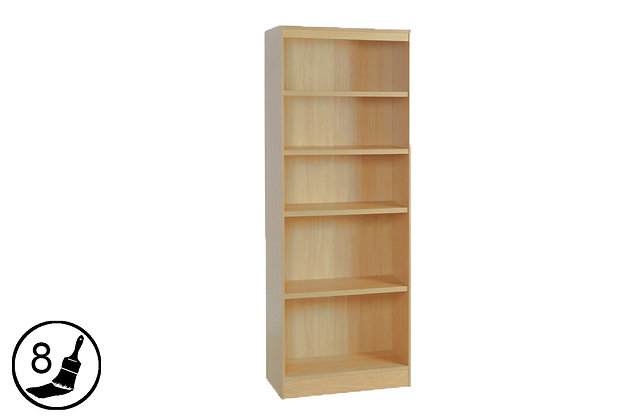 R White H-B60 – Tall Bookcase (600mm Wide)