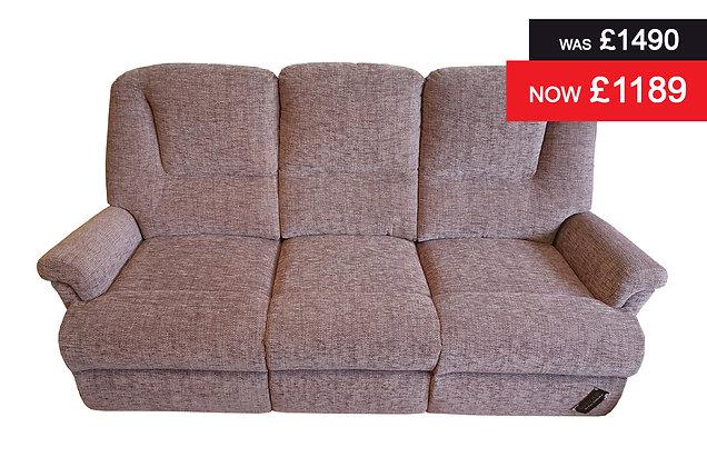 Sherborne Milburn 3 Seater Sofa - Como Plum