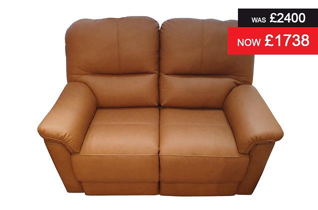 G Plan Chadwick 2 Seater Sofa - Kensington Tan Hide