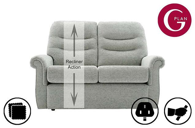 G Plan Holmes 2 Seater LHF Single Recliner Sofa