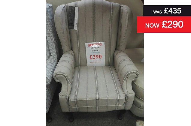 Surrey Wing-back Chair