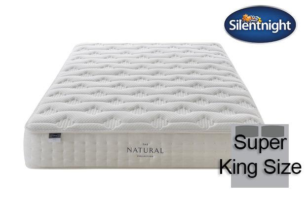 Silentnight Mirapocket Luxuriant Natural 1400 Super King Size Mattress
