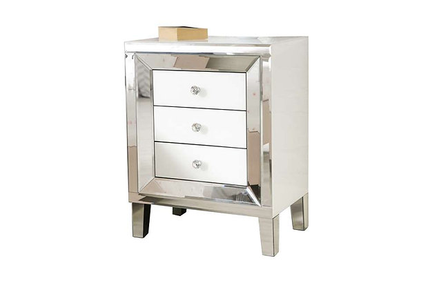 Liberty 3 Drawer Bedside