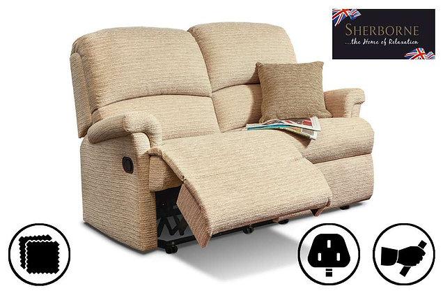 Sherborne Nevada Small 2 Seater Recliner Sofa