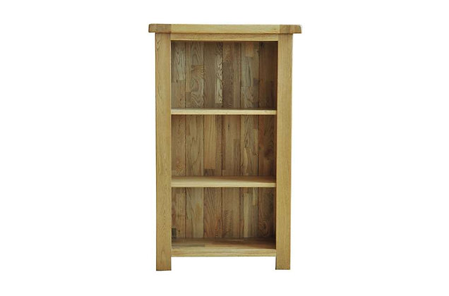 Rustic Charm 3ft Narrow Bookcase