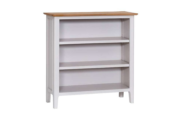 Bembridge Painted Small Wide Bookcase