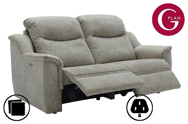 G Plan Firth 3 Seater Double Power Recliner