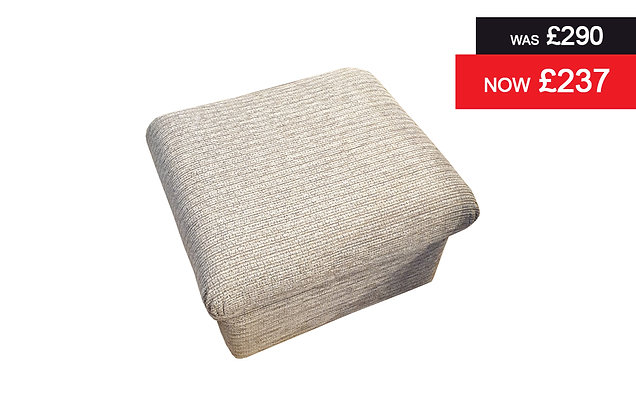 Sherborne Nevada Footstool - Tuscany Pebble