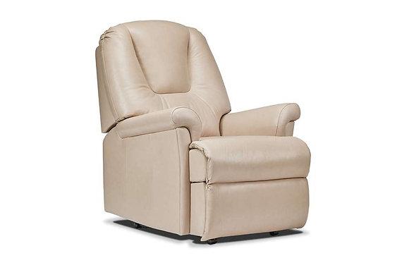 Sherborne Milburn Leather Small Armchair