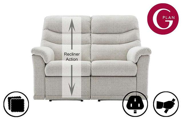 G Plan Malvern 2 Seater Left Hand Facing Single Recliner Sofa