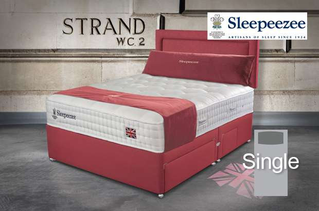Sleepeezee Perfectly British Strand 1400 Single Divan Bed
