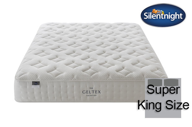 Silentnight Mirapocket Pastel Geltex 1000 Super King Size Mattress