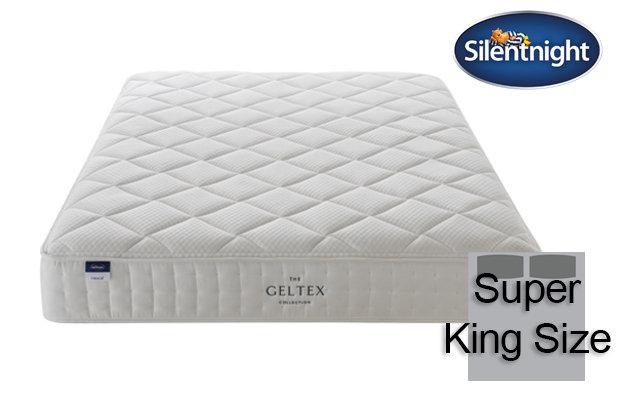 Silentnight Miracoil Aqua Geltex Super King Size Mattress
