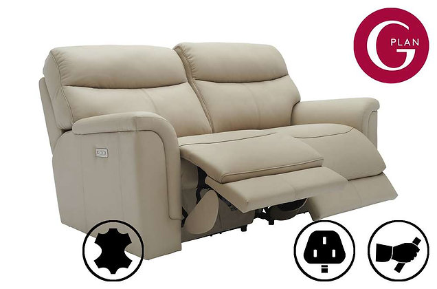 G Plan Harrison Leather 2.5 Seater Recliner Sofa