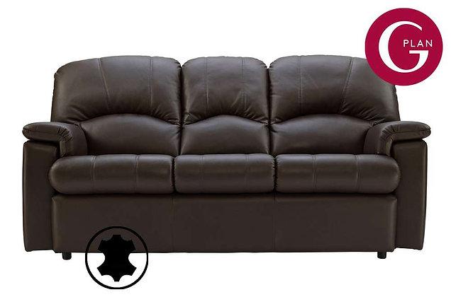 G Plan Chloe Leather 3 Seater Sofa