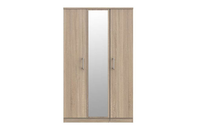 Sky 3 Door Mirror Wardrobe