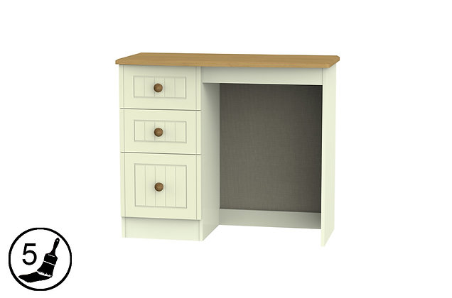 Solent 3 Drawer Vanity Dressing Table