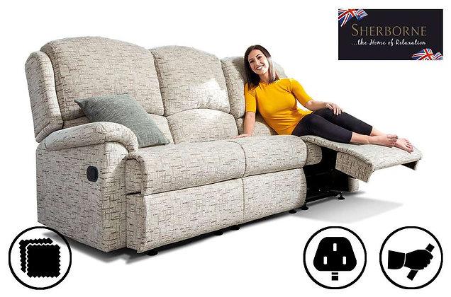 Sherborne Virginia Standard 3 Seater Recliner Sofa