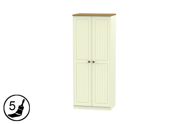 Solent 2ft6in Double Wardrobe