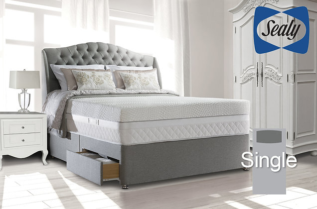 Sealy Hybrid Regency 3600 Single Divan Bed