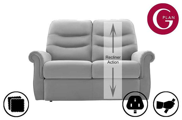 G Plan Holmes Leather RHF Single 2 Seater Recliner Sofa