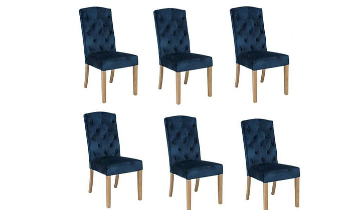 Lara Dining Chair – Set of 6 Chairs (Stocked Item)