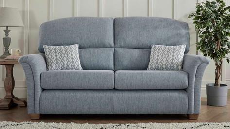 Buckingham 3 Seater Fabric Sofa