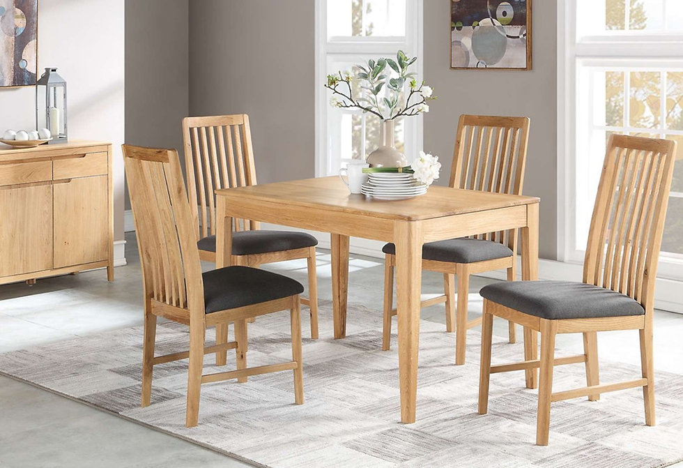 Demure Oak Dining Furniture, Sideboards, Dining Tables, Dining Chairs, Display Cabinets, Coffee Tables, Side Tables, Console Tables    Thorndale Furnishers   Hailsham, East Sussex