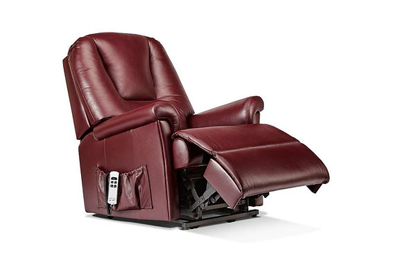 Sherborne Milburn Leather Small Lift & Rise Care Recliner Chair