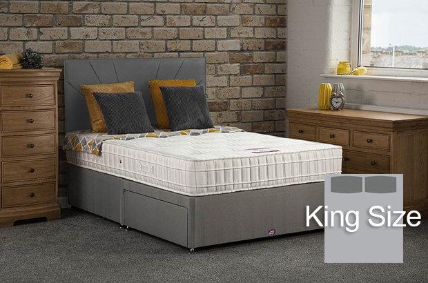 Elsa King Size Divan Bed