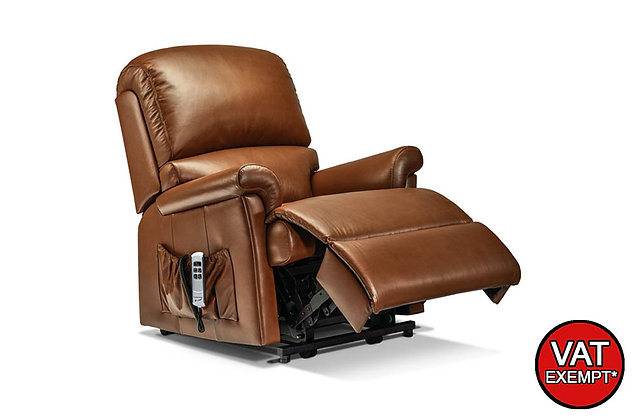 Sherborne Nevada Leather Petite Lift & Rise Care Recliner Chair