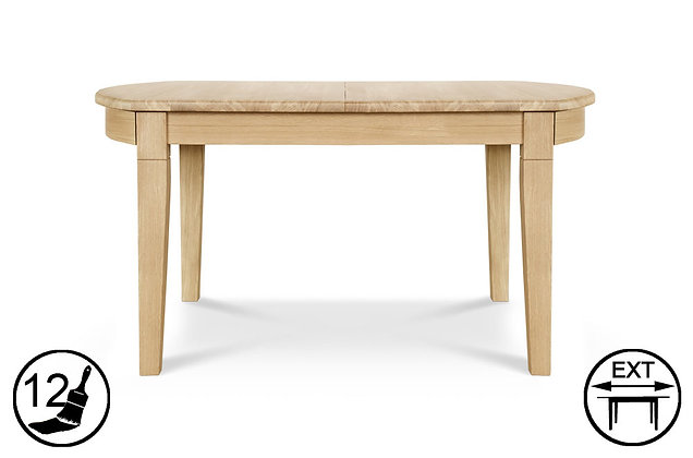 Tuscany D-end Extending Dining Table