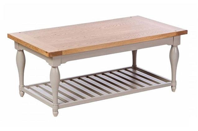 Malvern Coffee Table with Shelf