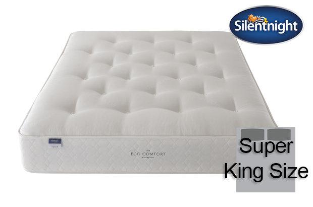 Silentnight Miracoil Saffron Eco Comfort Super King Size Mattress