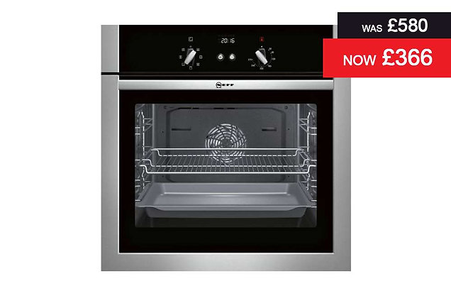 Neff – Single Oven Stainless Steel (B14M42N3GB)