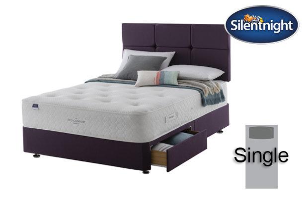 Silentnight Mirapocket Aria Eco Comfort 1200 Single Divan Bed