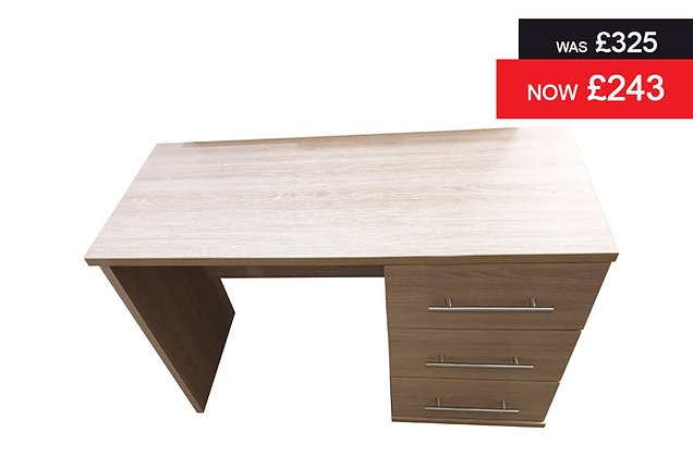 Breeze Single Pedestal Dressing Table