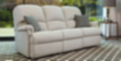 Wexford Fabric 3 Seater Sofa