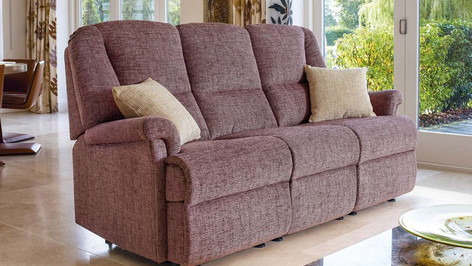 Sherborne Milburn 3 Seater Fabric Sofa
