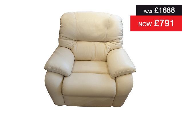 G Plan Mistral Standard Chair - Capri Cream Hide