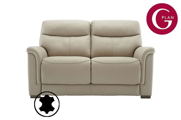 G Plan Harrison Leather 2 Seater Sofa