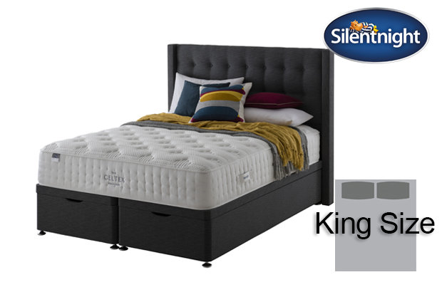 Silentnight Mirapocket Sublime Geltex 2000 King Size Divan Bed