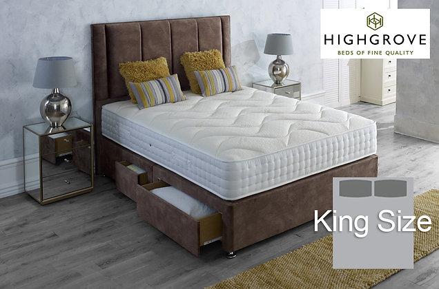 Highgrove Ambassador 2000 Series King Size Divan Bed