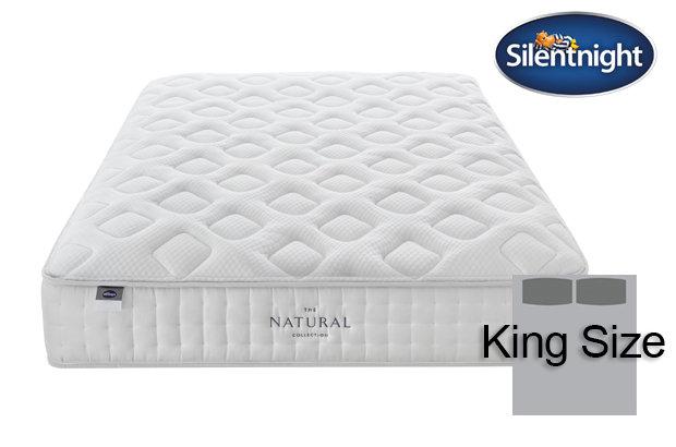 Silentnight Mirapocket Allegro Natural 1400 King Size Mattress