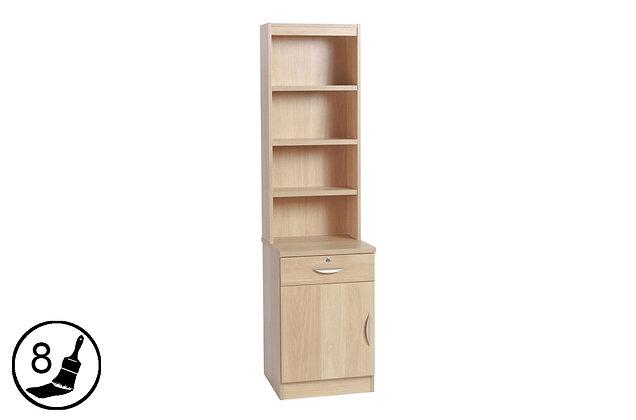 R White B-CDU-OC – Cupboard / Drawer Unit with Hutch