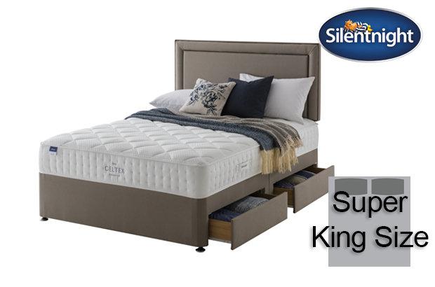Silentnight Miracoil Aqua Geltex Super King Size Divan Bed
